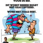 Jij bewaakt het respect bij rugby